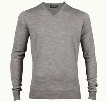 Load image into Gallery viewer, John Smedley Polo V-Neck Sweater