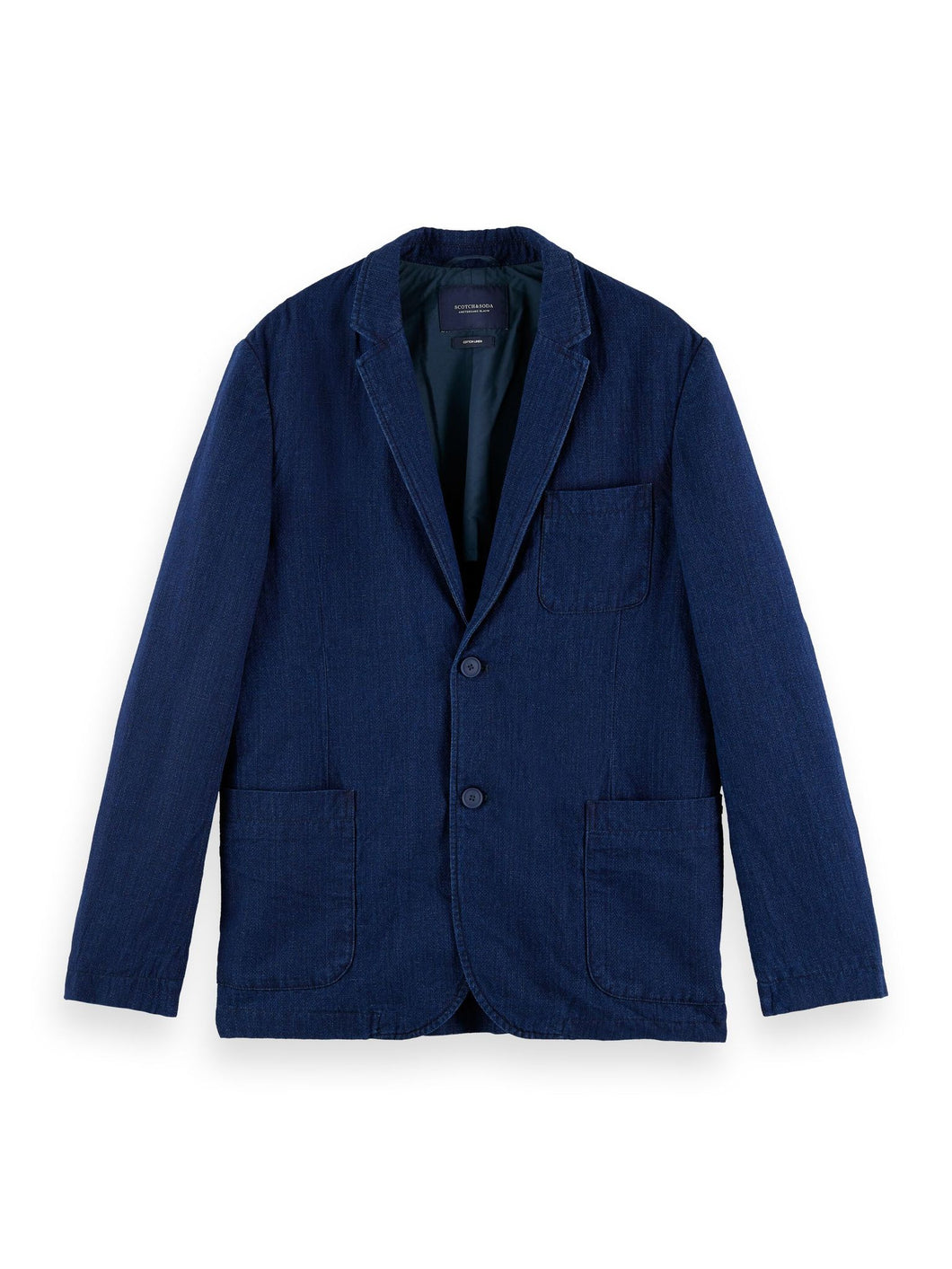 Scotch & Soda Cotton-Linen Blazer