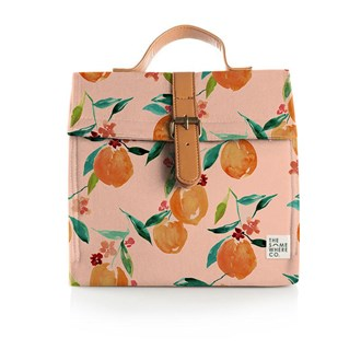 The Somewhere Co Lunch Satchel ~ Orange Blossom