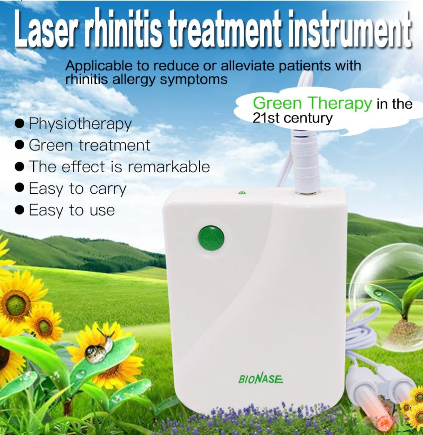 Infrared Rhinitis Therapy Device