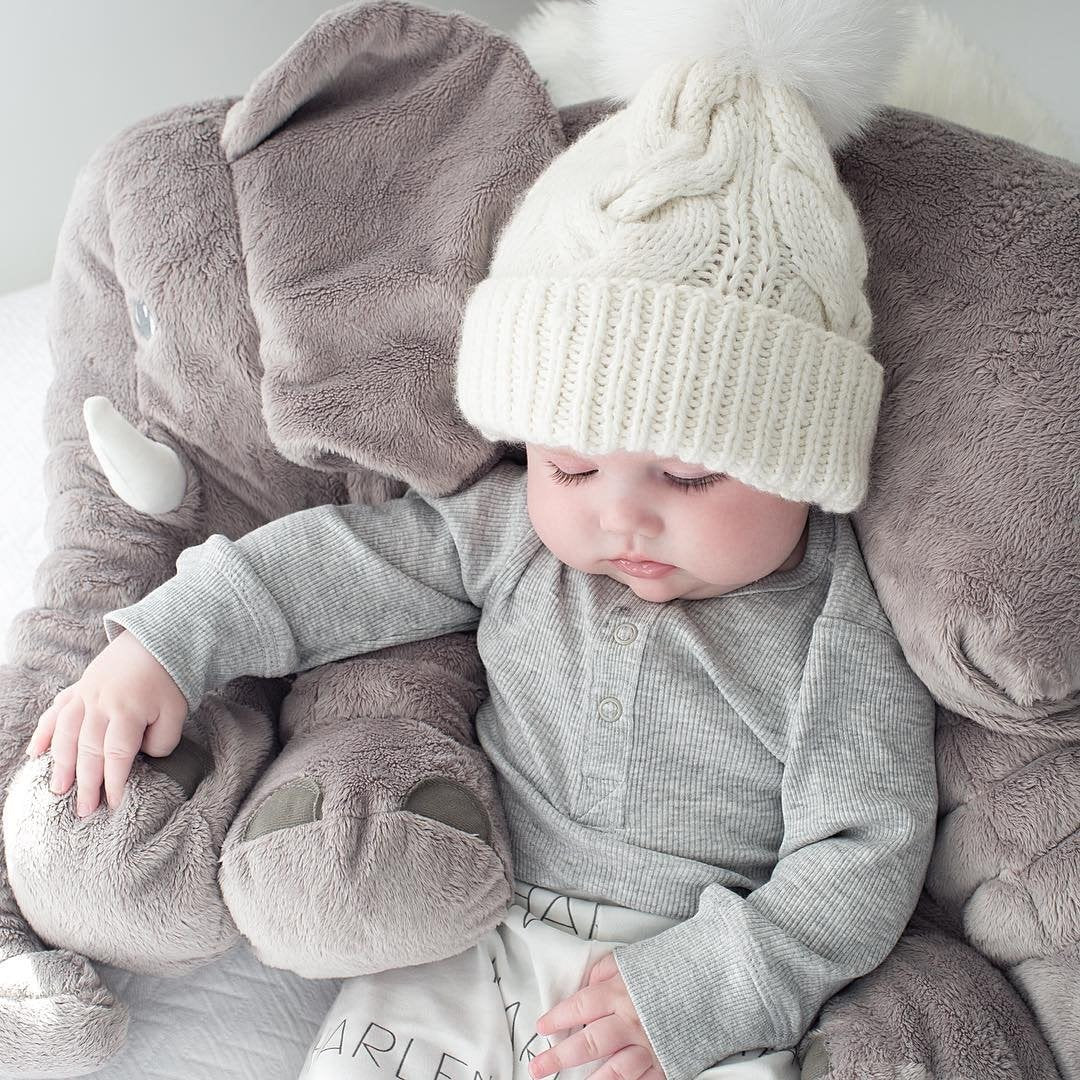 Mother And Baby Beanie Hats