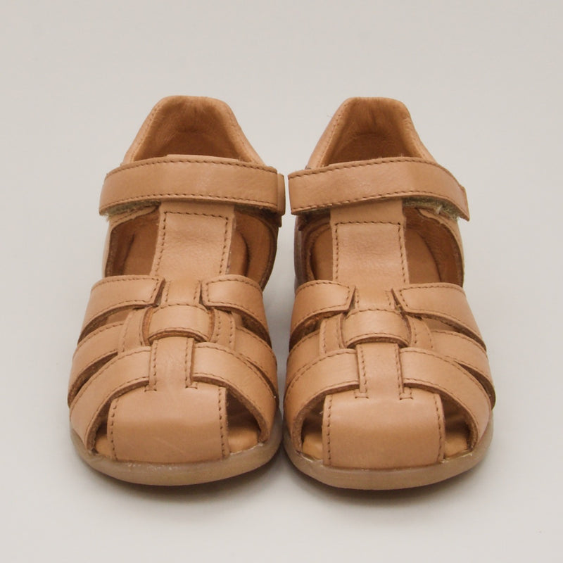 Leather Sandals | Brown