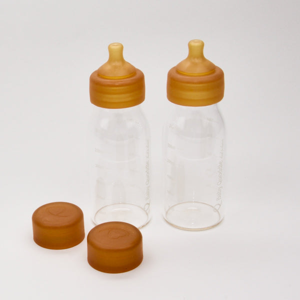 Glass Bottles Twin Pack 300ml - Medium Flow