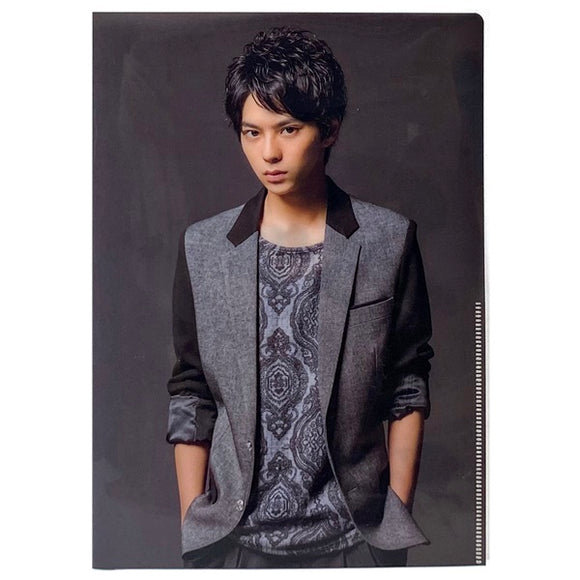 【中古/開封】Sexy Zone 佐藤勝利 ミニクリアファイル 男 never give up Sexy Zone Shop盤【kak-352-N673】★