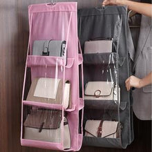 Load image into Gallery viewer, FOLDING SHELF BAG PURSE (6 POCKETS)