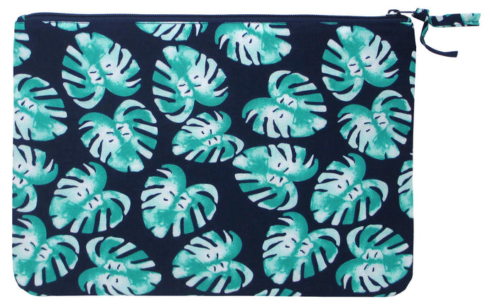 Tablet pouch Palm Blue