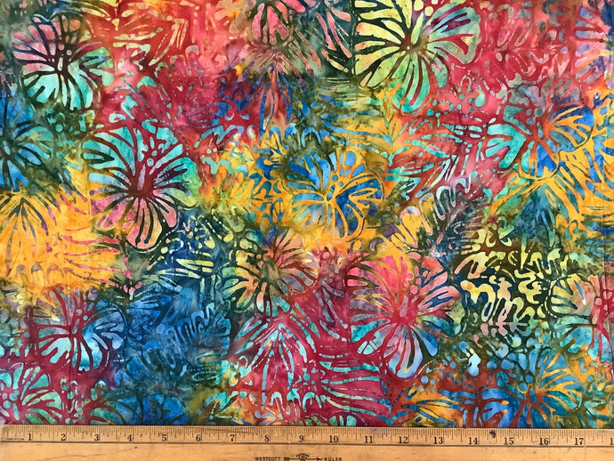 Hibiscus Artisan Batiks Totally Tropical by Lunn Studios