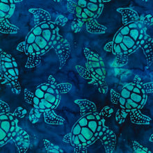 Load image into Gallery viewer, Artisan Batiks sea turtle Regatta