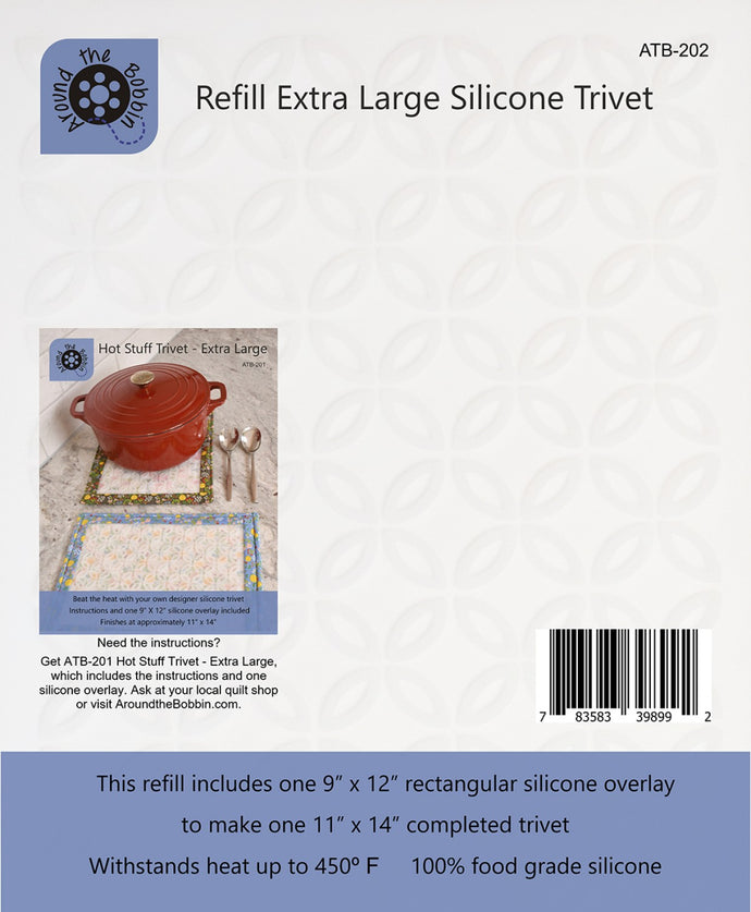 Hot stuff trivet and potholder extra large refill