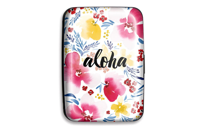 Credit card case Aloha with identity theft protection