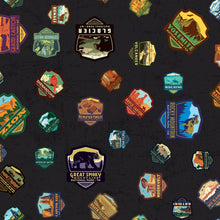 Load image into Gallery viewer, National Parks patches black colorway