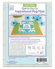 Load image into Gallery viewer, Just add fabric! Mug mat kit Daily Mews
