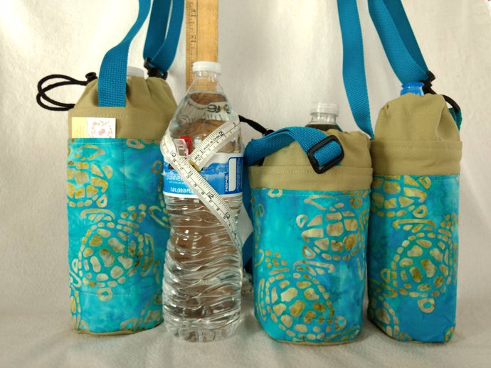Insulated bottle totes large 1.5 liter or 50.7 oz