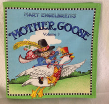 Load image into Gallery viewer, Mother goose volume three by Mary Engelbreit soft book sewn by Pat