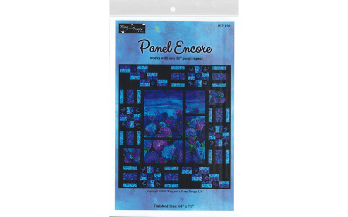 Panel Encore pattern by Wing and a Prayer Collection