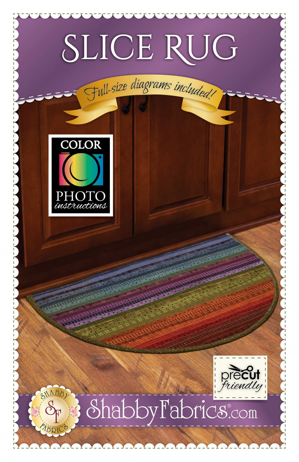 Slice Rug - Jelly Roll Rug