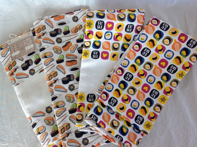 Kitchen Towels Sushi