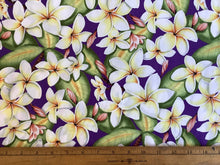 Load image into Gallery viewer, Plumeria or Hawaiian floral purple