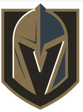 Load image into Gallery viewer, NHL Hockey Las Vegas Golden Knights Vegas Born Allover on Cotton