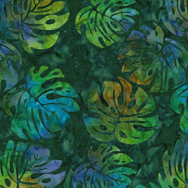 Batik Cypress leaves