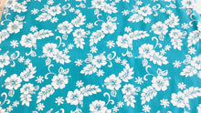 Load and play video in Gallery viewer, Hawaiian Hibiscus White on turquoise