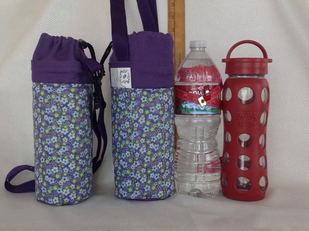 Insulated bottle totes liter or quart