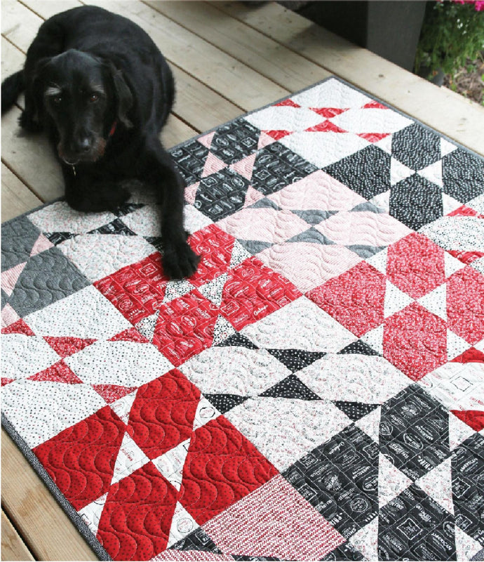 Sara Quilt Kit from Cut Loose Press