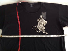 Load image into Gallery viewer, Tiger and Asian embellished tee