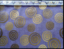Load image into Gallery viewer, Quilt Gate Hyakka Ryoran lavender obi collection