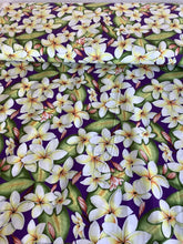 Load image into Gallery viewer, Plumeria purple colorway