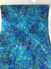 Load image into Gallery viewer, Artisan Batiks sea turtle fabric Totally Tropical Caribbean