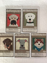 Load image into Gallery viewer, Dog breeds Fused Applique Pack