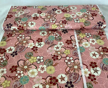 Load image into Gallery viewer, Quilt Gate Hyakka Ryoran Suzune collection Pink