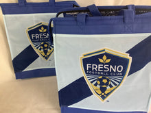 Load image into Gallery viewer, Fresno football club insulated tote