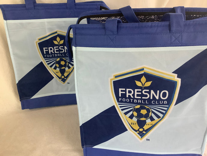 Fresno football club insulated tote