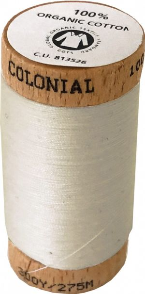 Organic Cotton Thread 300yd Natural