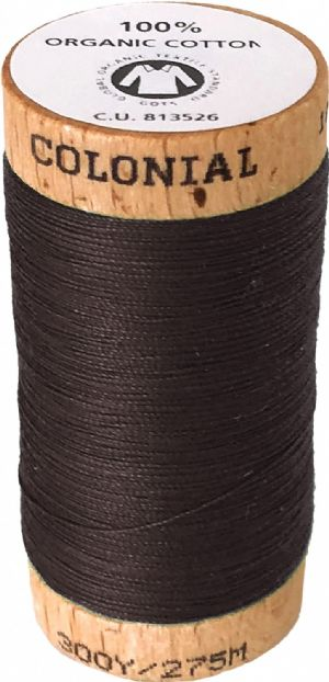 Organic Cotton Thread 300yd Mahogany