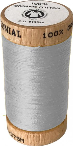 Organic Cotton Thread 300yd Sand