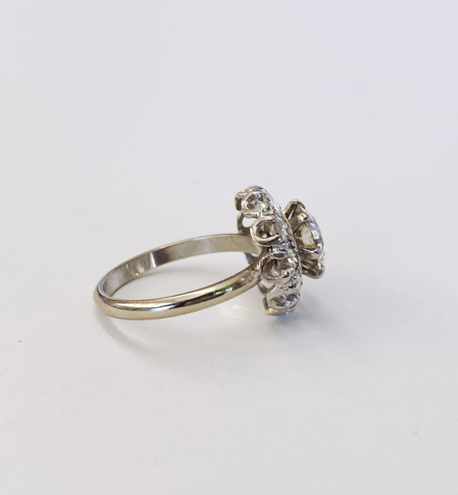 Vintage Halo Ring