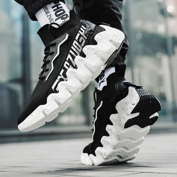 Black Chunky Sneakers - Trendo Chic