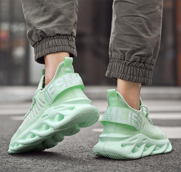 Apple Green Chunky Sneakers - Trendo Chic