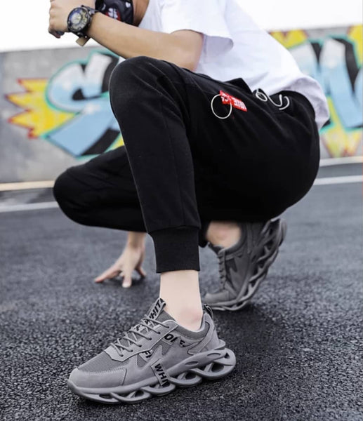 Gray Chunky Sneakers - Trendo Chic