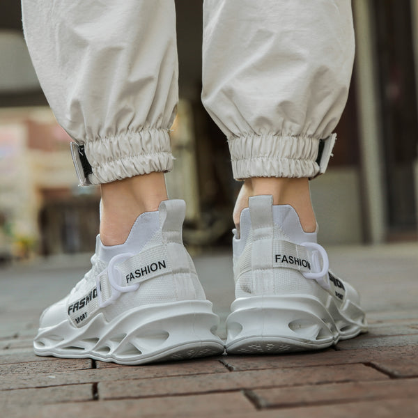 White Chunky Sneakers - Trendo Chic