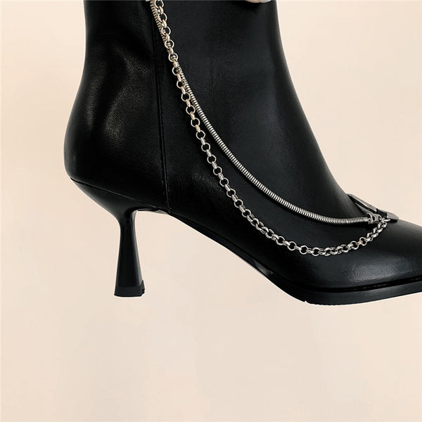 Black Ankle Boots - Trendo Chic