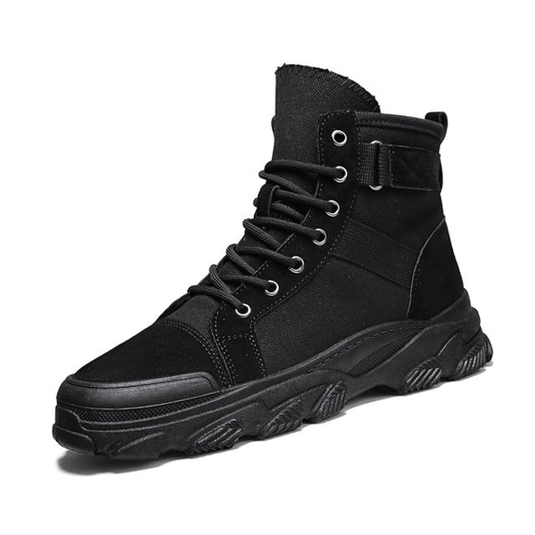 Black Hiking Boots - Trendo Chic