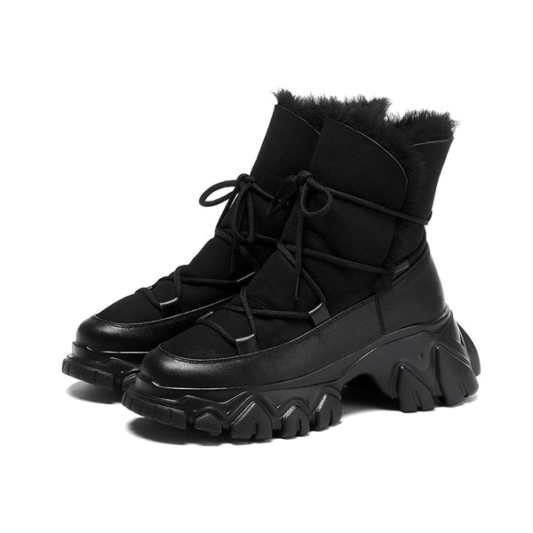 Black Snow Boots - Trendo Chic