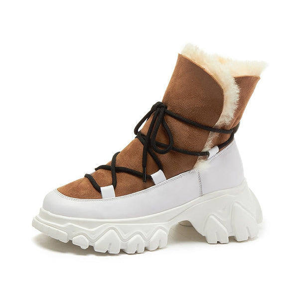 Brown Snow Boots - Trendo Chic