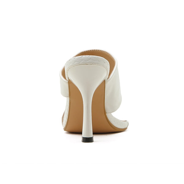 White High Heel Sandals - Trendo Chic