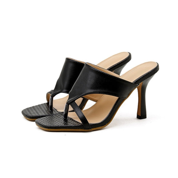 Black High Heel Sandals - Trendo Chic
