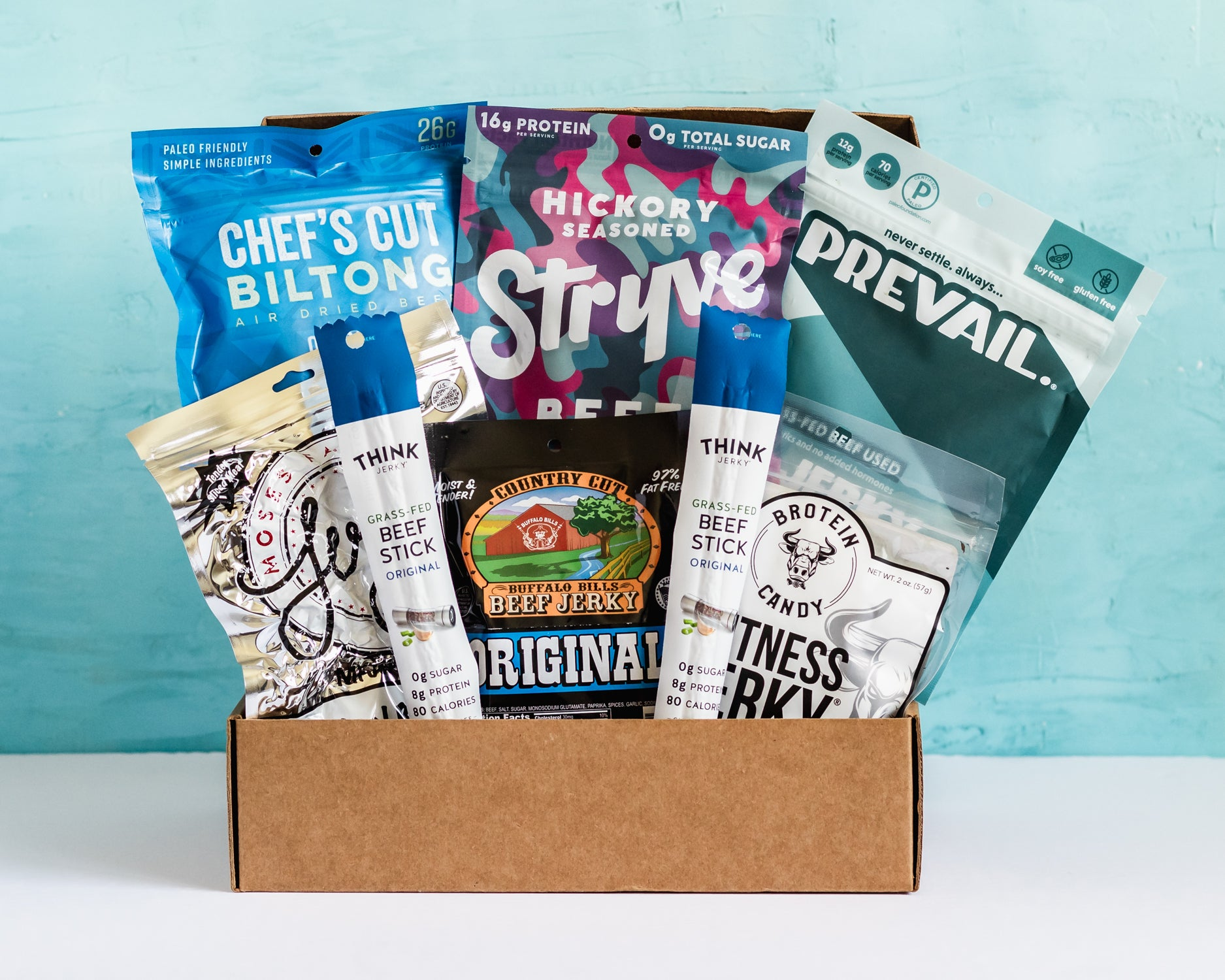 low sugar keto friendly jerky box subscription